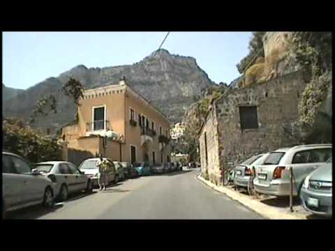 Goldwing Riders T1 & T2 of the Appy Wanderers ride the Almafi coast road part 3