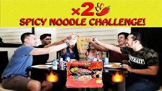 SPICY NOODLE CHALLENGE! HINDI NAMAN MAANGHANG!
