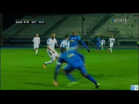 KALLITHEA F C build up vs pressing (against ATROMITOS ATHENS)- part 1