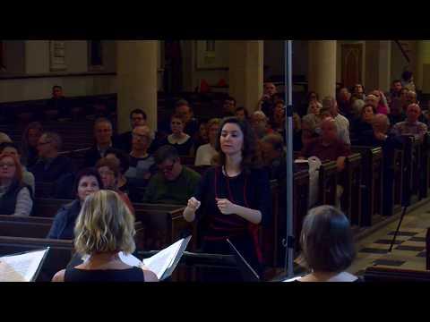 C. Monteverdi, madrigal 'Luci serene e chiare', Book IV. Conductor Gohar Manvelyan