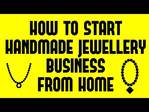 How to Start Handmade Jewellery Business From Home | Small Business Idea
