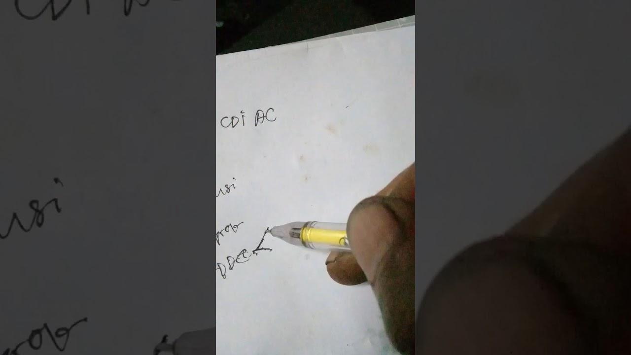 Diagram Cdi Ac