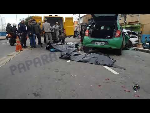 Quatro pessoas morrem e seis ficam feridas em acidente em Macaé, RJ, 22/08/2017