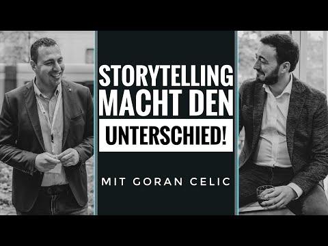 STORYTELLING MACHT DEN UNTERSCHIED  Interview mit einem Storyteller Goran Cerlic