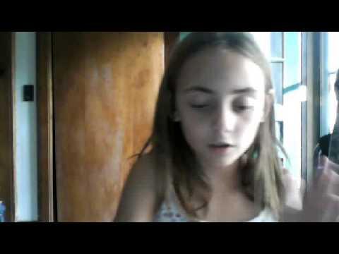 Topless girl webcam