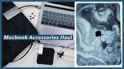 MACBOOK ACCESSORIES HAUL 2020 l SHOPEE (Laptop stand, Macbook case, Laptop bag, Keyboard cover)