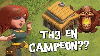 En Liga de Campeones con TH3, ¿es un hack? | Curiosidades | Descubriendo Clash of Clans #363