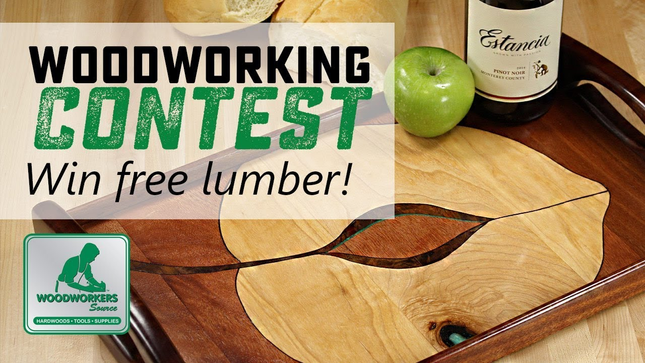 Woodworking Contest Announcement Enter Project Photos Win Lumber