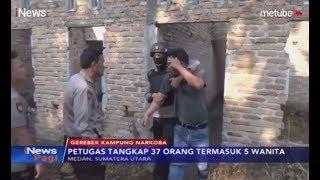 Polrestabes Medan Gerebek Kampung Narkoba, 37 Pemuda Diamankan - iNews Pagi 06/08