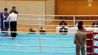 2016 12 22 第68回全日本社会人ボクシング選手権大会初戦 バンタム B級 内山 雄平vs本庄 貴一