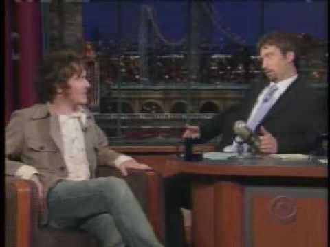 Damien Rice interview on Late Show