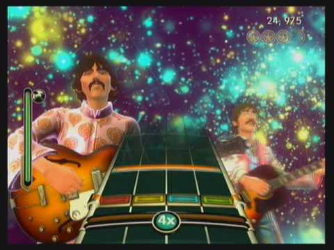 Rock Band Beatles  Lucy In The Sky With Diamonds  Expert Drums 100% 5GS