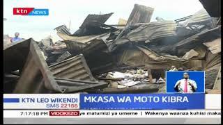 Watu watano wamefariki kutokana na moto katika Kibera