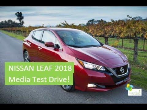 2018 Nissan LEAF Media Drive!