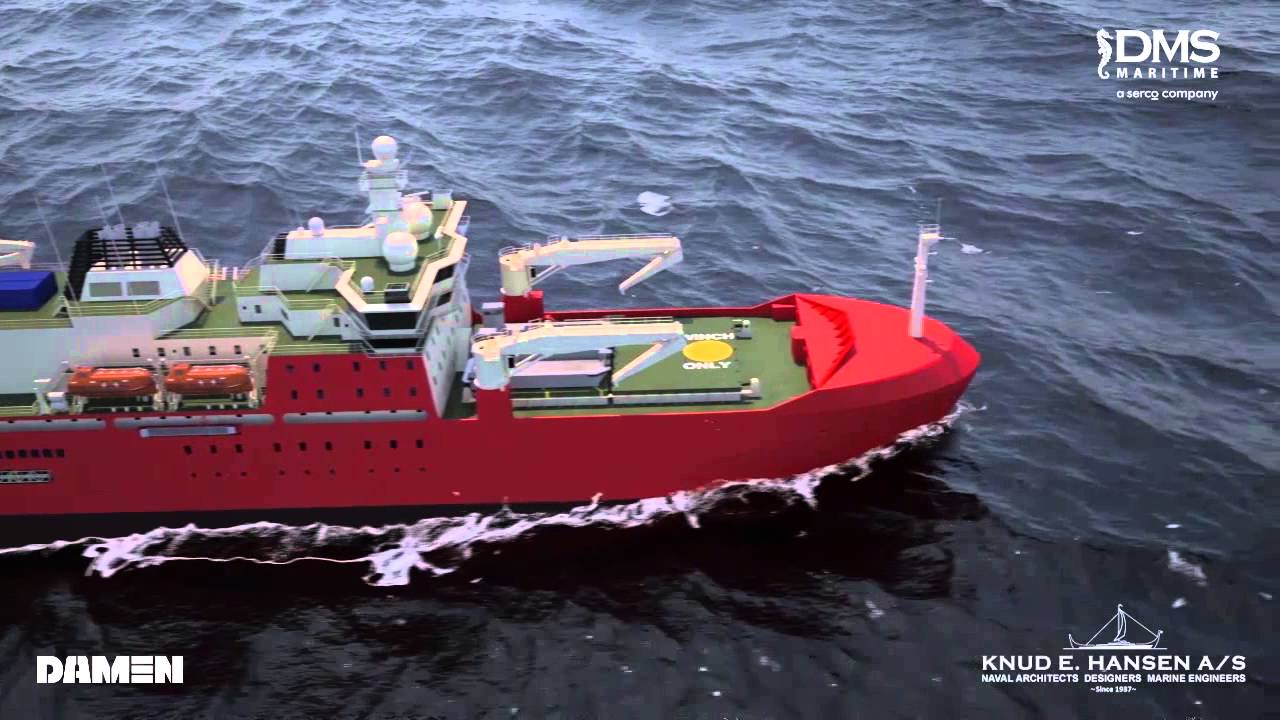 State-of-the-art research vessel built tough with