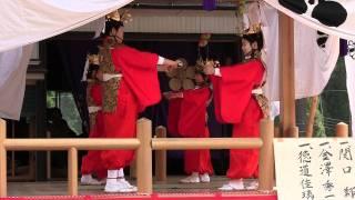 明日の稚児舞-千秋楽-富山県黒部市宇奈月町
