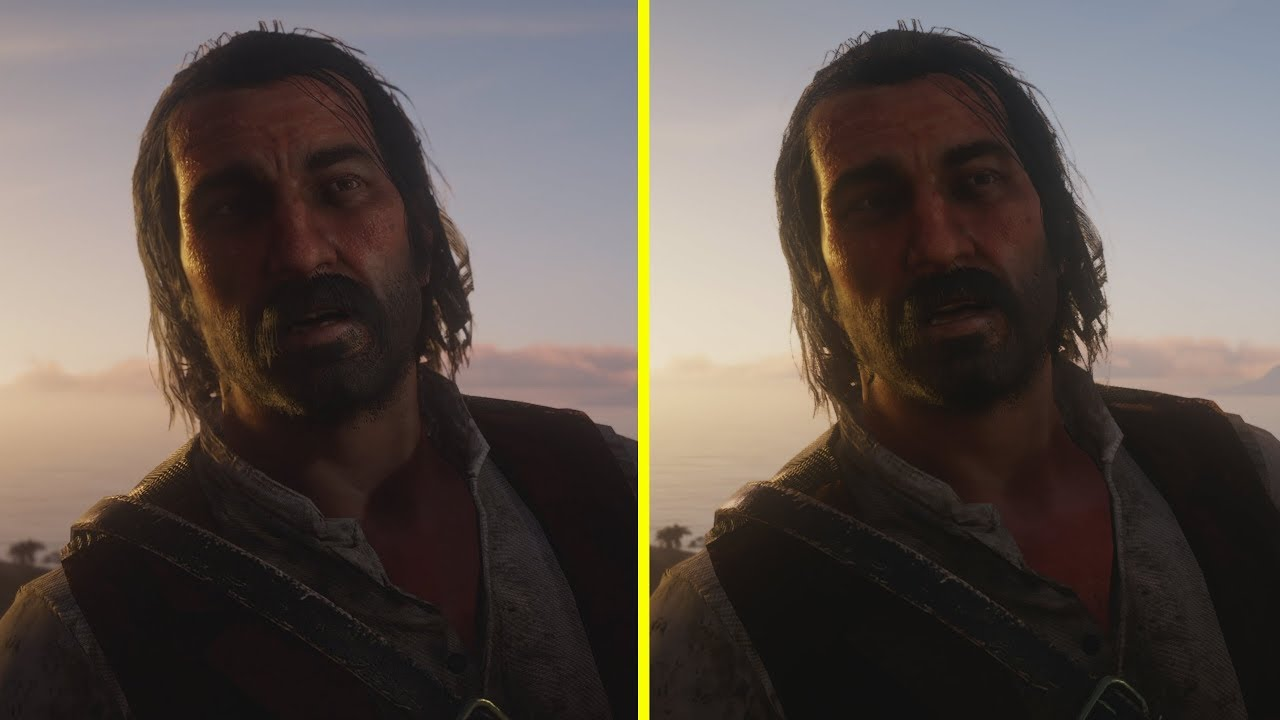 Red Dead Redemption 2 Pc Vs Xbox One X 4k Early Graphics Comparison