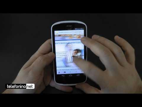 Acer Liquid E1 videoreview da Telefonino.net