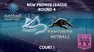 2018 Samsung Premier League Round 4 - U20s/Opens - Court 1 - Stingrays v Panthers