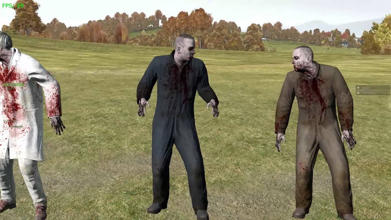 dayz how to lose zombies