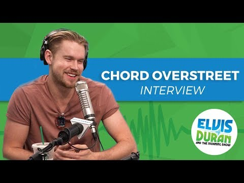 Chord Overstreet Talks Glee, Breaking Up, and His New