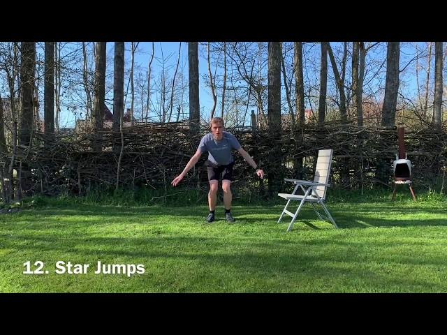 7 minute workout benen