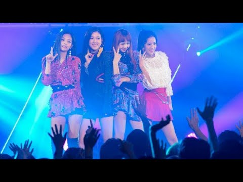 Black Pink performs as a special guest at MTV's 'Video Music Awards Japan'