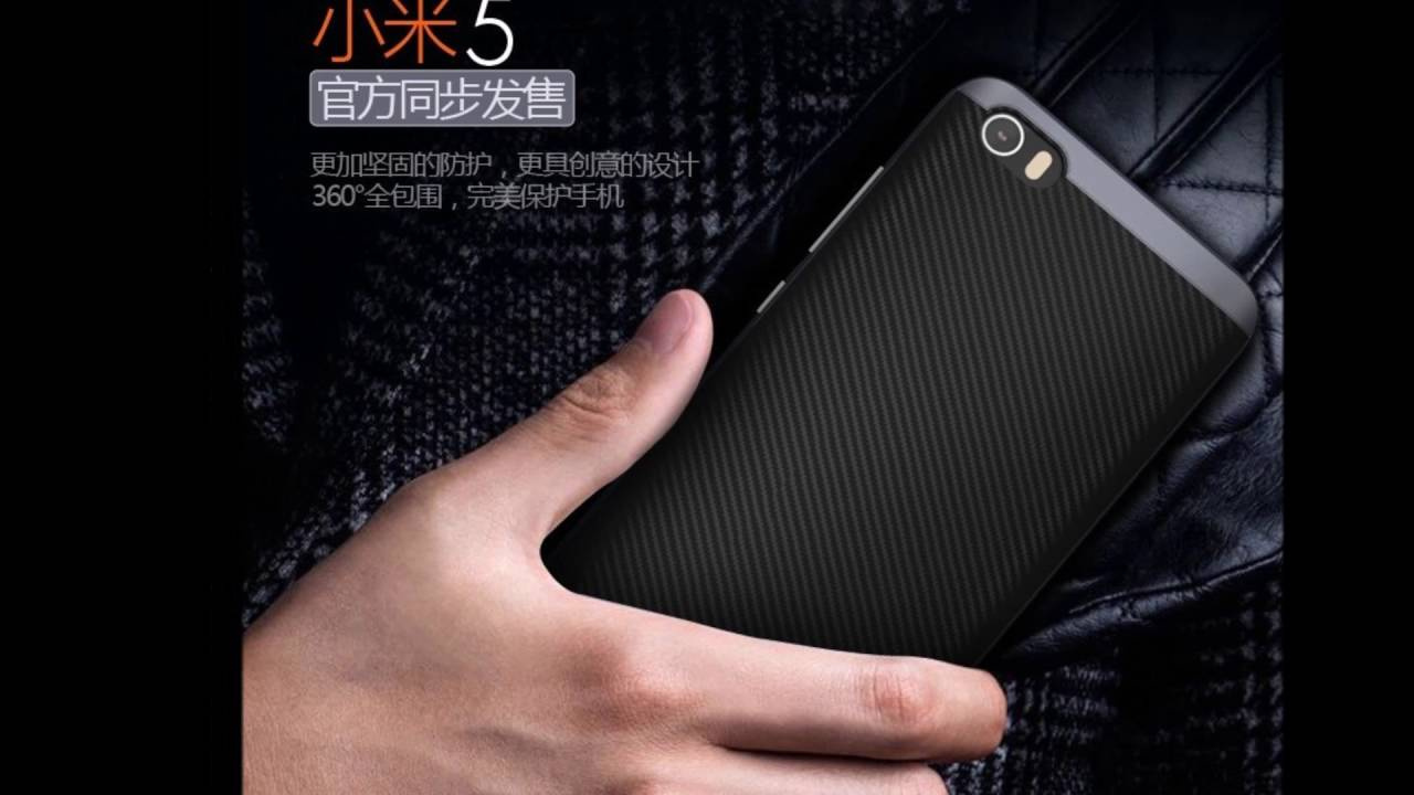 competitive price a1e43 a62af Xiaomi Mi5 Case Ipaky