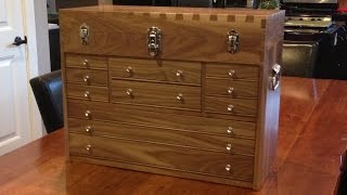 How to Make a Dovetail Tool Chest Part 1 (Wood selection & Cutting Parts)