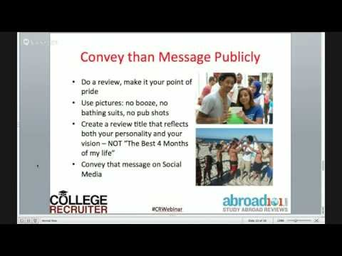 How to Convey the Study Abroad Advantage in Job or Grad School Interviews