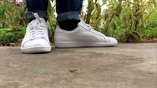 Puma Smash V2 Leather || On feet - YouTube
