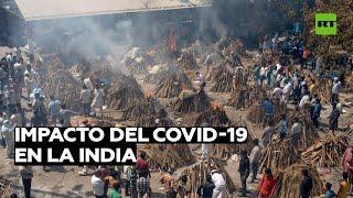 EE.UU., bajo crítica por enviar ayuda a India solo tras colapso sanitario