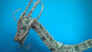 Origami Money Dragon (3)