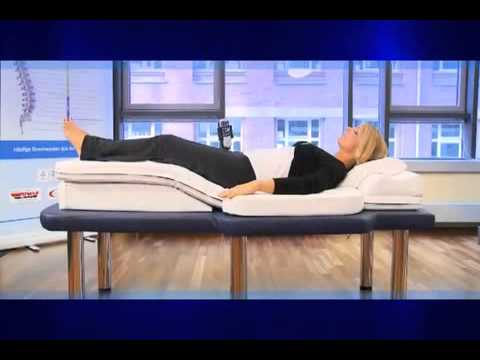 hhp massage matelas contre le mal de dos youtube. Black Bedroom Furniture Sets. Home Design Ideas