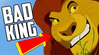 Why The Lion King's Mufasa Was a Bad King