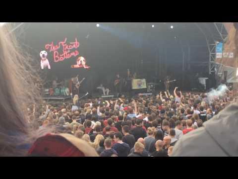 The Front Bottoms - Twin Size Mattress - 14.7.17 Manchester Blink 182 tour
