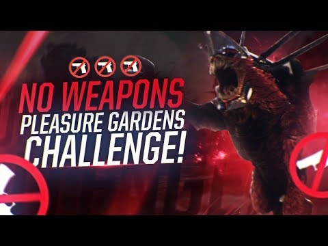 Destiny 2: NO WEAPONS PLEASURE GARDENS RAID CHALLENGE | Melee & Grenade Only!