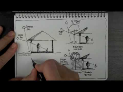 Sketch Architectural Solar Design Principles