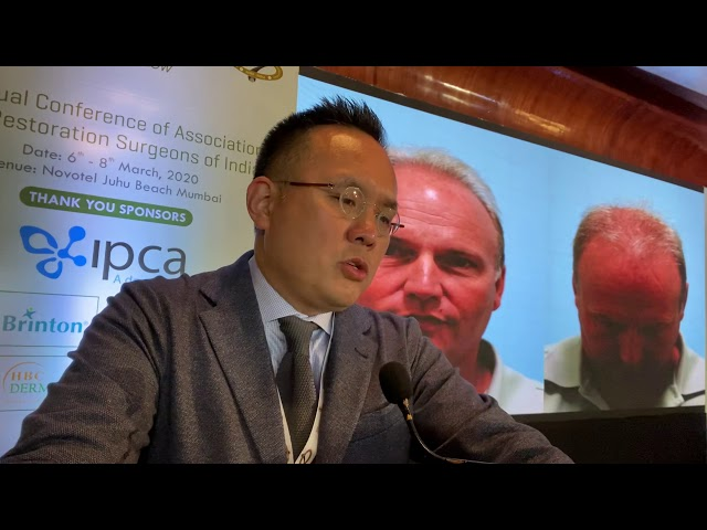 Dr. Sam Lam Lectures on Donor & Recipient Influences in Hair Transplant Surgery in Mumbai, India