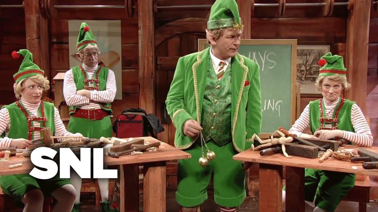 Glengarry Glen Christmas: Elf Motivation - SNL - YouTube