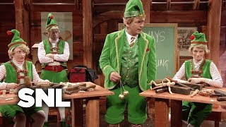 In this parody of glengarry glen ross, winter's breath (alec baldwin) is an elf sent by santa to motivate elves (rachel dratch, amy poehler, seth meyers) bui...