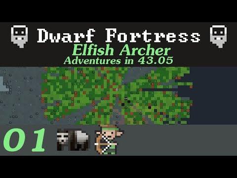 Dwarf Fortress - Elfish Archer Adventure 01
