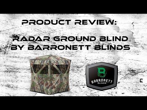 Product Review: Barronett Radar Ground Blind