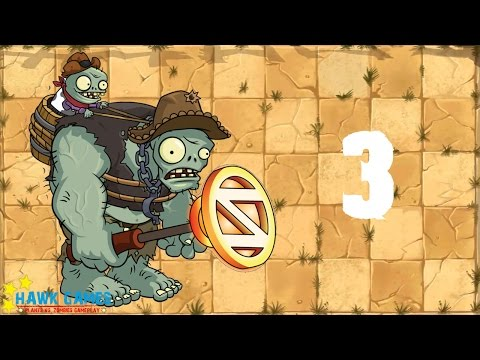 Plants vs. Zombies 2 China - Gargantaur Crisis 3《植物大战僵尸2》- 巨人危机 3 - 동영상