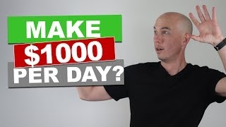 Making $1000 per day with an Amazon Affiliate Niche Site