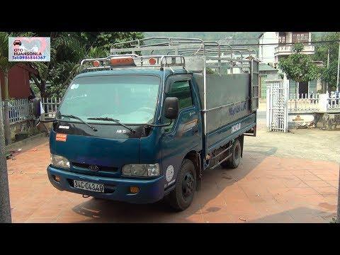 Ô TÔ cũ - Kia K3000 trọng tải 1t4 Màu xanh dương báo 142t