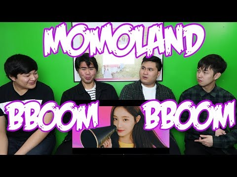 MOMOLAND  BBOOM BBOOM MV REACTION FUNNY BOYS