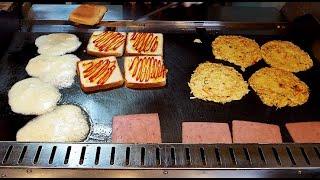 모짜렐라 치즈 3단 토스트 / mozzarella ch…