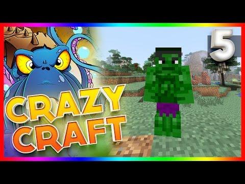 Minecraft: Crazy Craft 2.2 - EP 5 - THE HULK