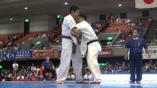第2回JFKO大会初日 山本vs北島